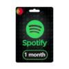 P - Spotify 1 mês